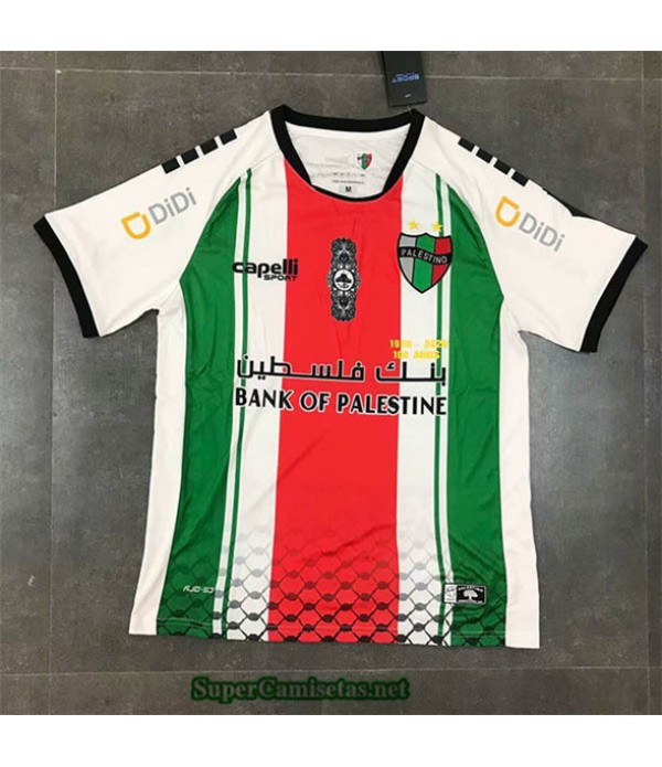 Tailandia Segunda Equipacion Camiseta Palestina Blanco 2020/21