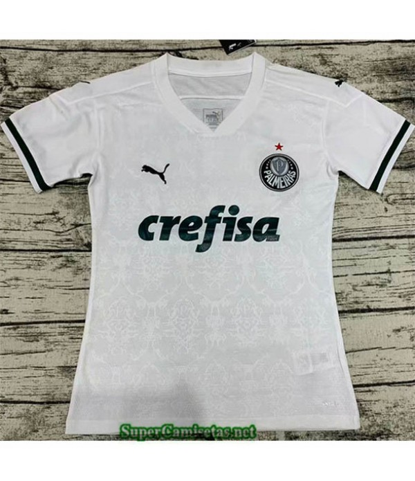 Tailandia Segunda Equipacion Camiseta Palmeiras Mujer 2020/21