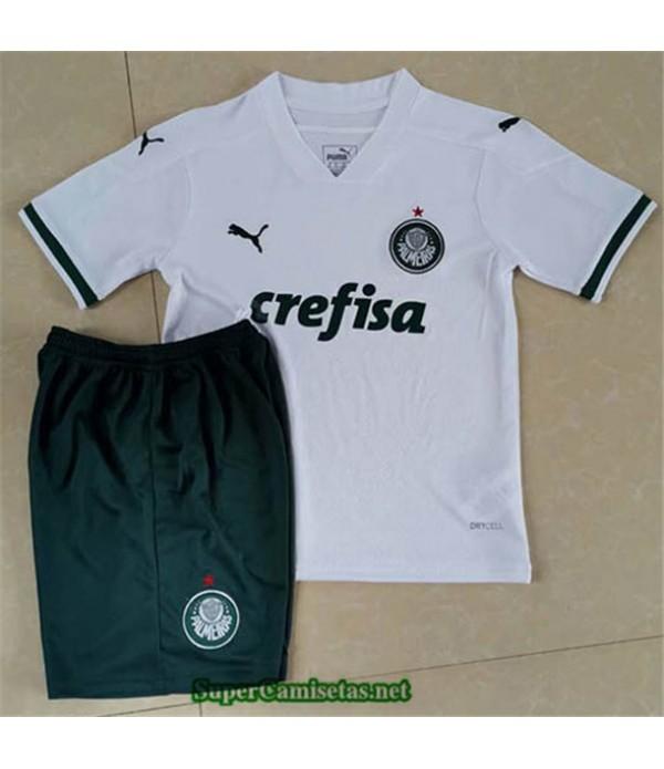 Tailandia Segunda Equipacion Camiseta Palmeiras Niños 2020/21