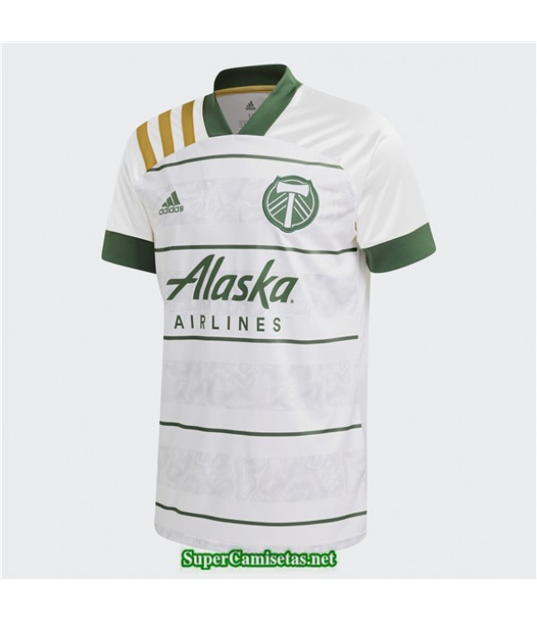 Tailandia Segunda Equipacion Camiseta Portland Timbers 2020/21