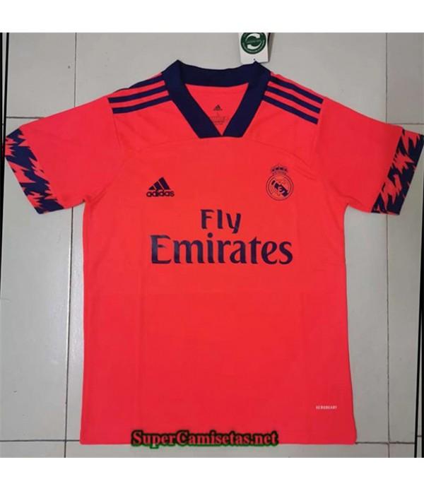 Tailandia Segunda Equipacion Camiseta Real Madrid Naranja 2020/21