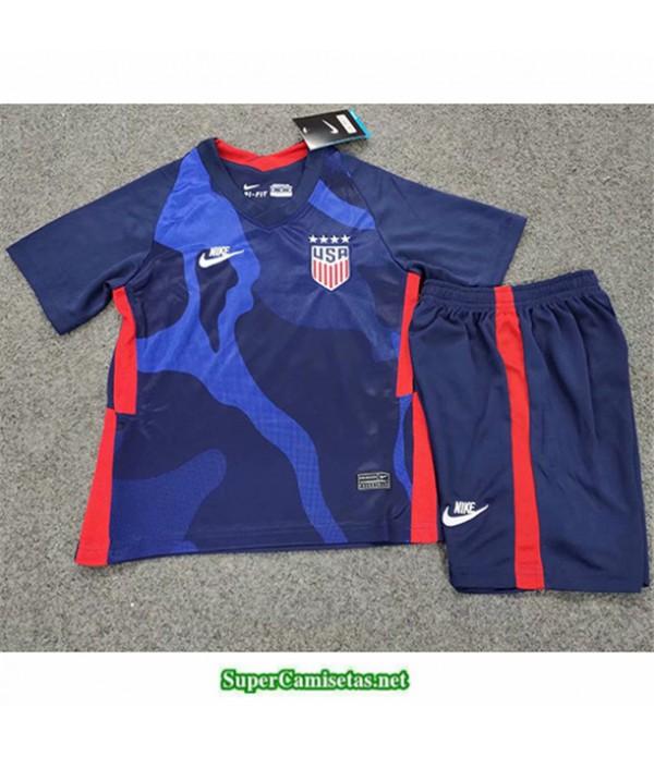 Tailandia Segunda Equipacion Camiseta Usa Enfant 2020/21
