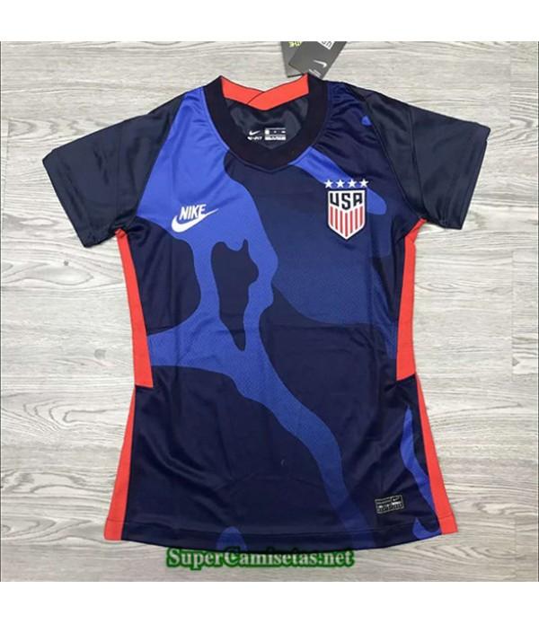 Tailandia Segunda Equipacion Camiseta Usa Mujer 2020/21