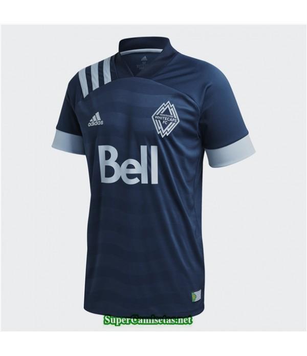 Tailandia Segunda Equipacion Camiseta Vancouver Blancocaps 2020/21