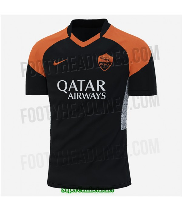 Tailandia Tercera Equipacion Camiseta As Roma 2020/21