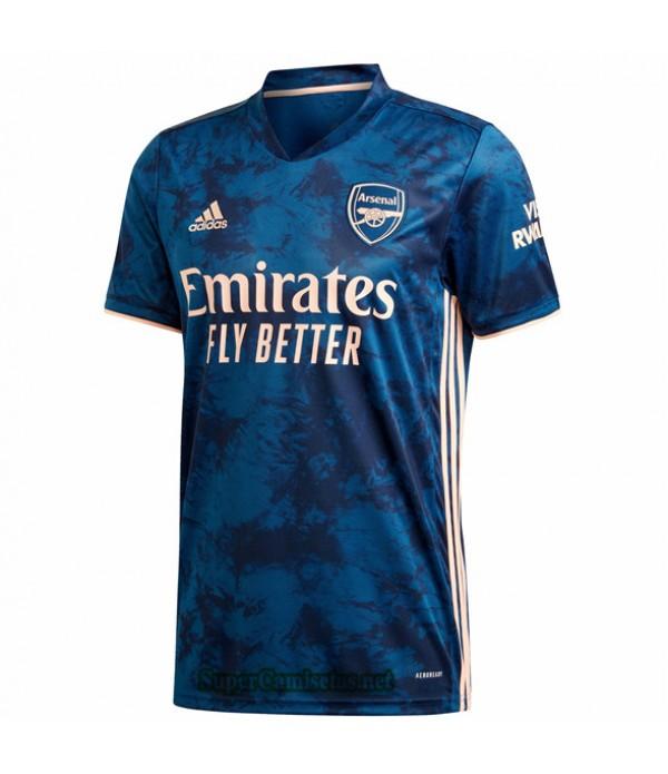 Tailandia Tercera Equipacion Camiseta Arsenal 2020/21