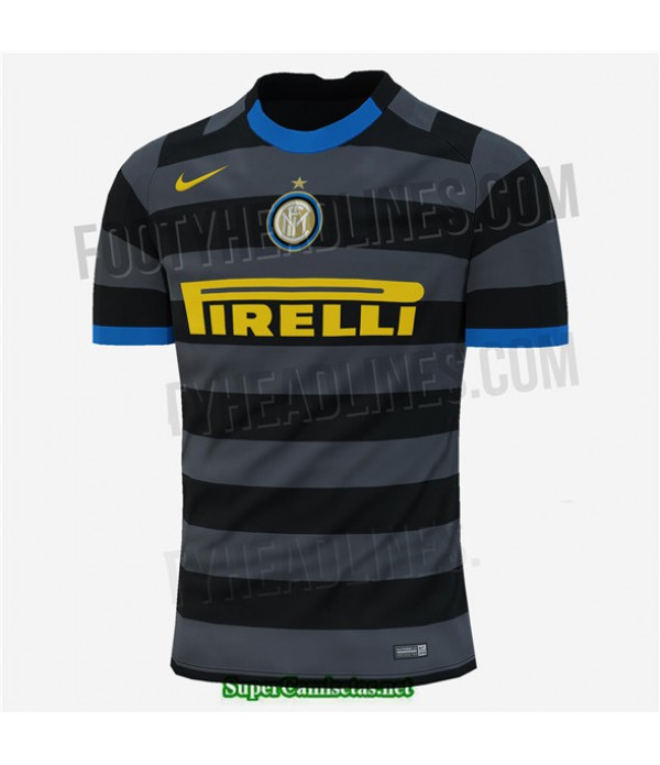 Tailandia Tercera Equipacion Camiseta Inter Milan 2020/21