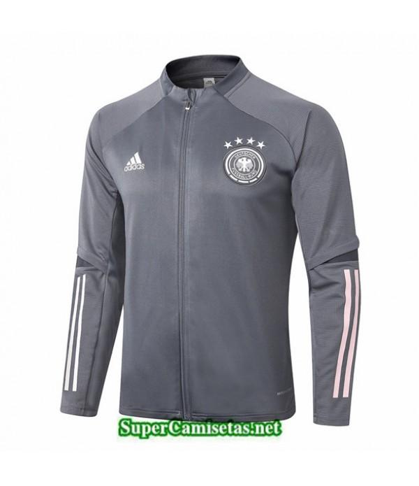 Tailandia Camiseta Alemania Chaqueta Gris Oscuro 2020/21