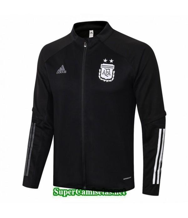 Tailandia Camiseta Argentina Chaqueta Negro Cuello Bajo 2020/21