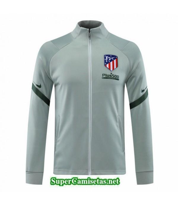 Tailandia Camiseta Atletico Madrid Chaqueta Verde Claro 2020/21