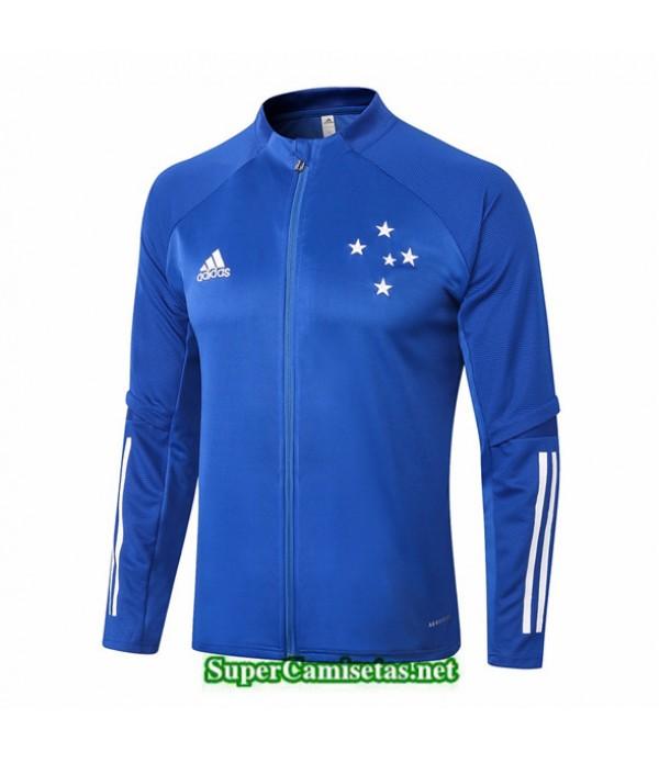 Tailandia Camiseta Cruzeiro Chaqueta Azul 2020/21