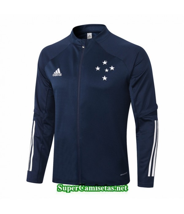 Tailandia Camiseta Cruzeiro Chaqueta Azul Oscuro 2020/21