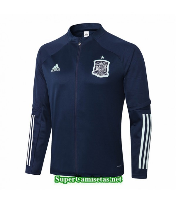 Tailandia Camiseta Espana Chaqueta Azul Oscuro 2020/21