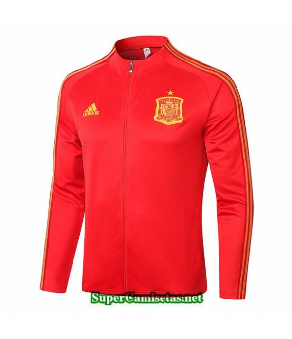 Tailandia Camiseta Espana Chaqueta Rojo 2020/21