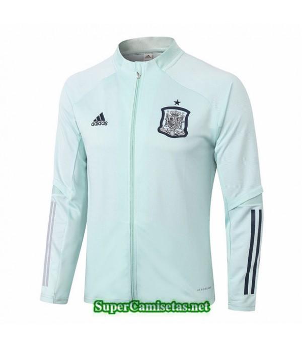 Tailandia Camiseta Espana Chaqueta Verde Claro 2020/21