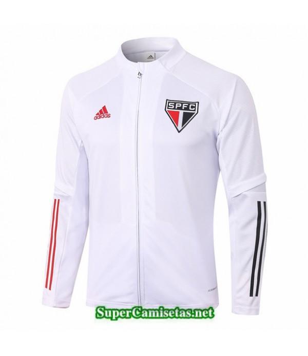Tailandia Camiseta São Paulo Chaqueta Blanco 2020/21