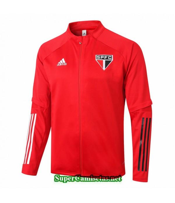 Tailandia Camiseta São Paulo Chaqueta Rojo 2020/21