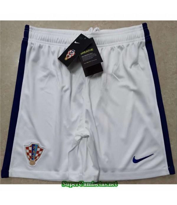 Tailandia Camisetas Croacia Pantalones Blanco 2020/21