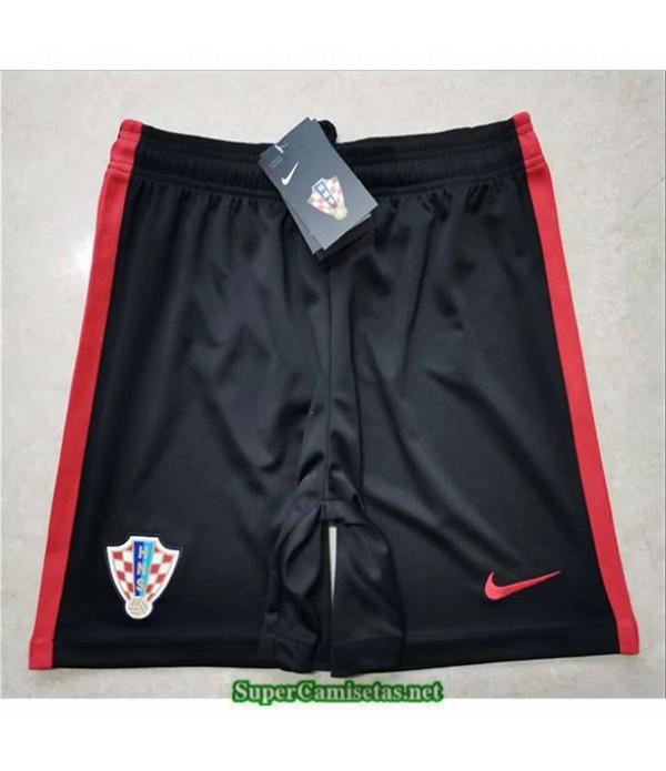 Tailandia Camisetas Croacia Pantalones Negro 2020/21
