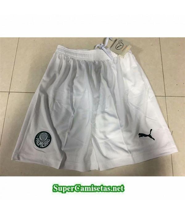 Tailandia Camisetas Palmeiras Pantalones Blanco 2019/20