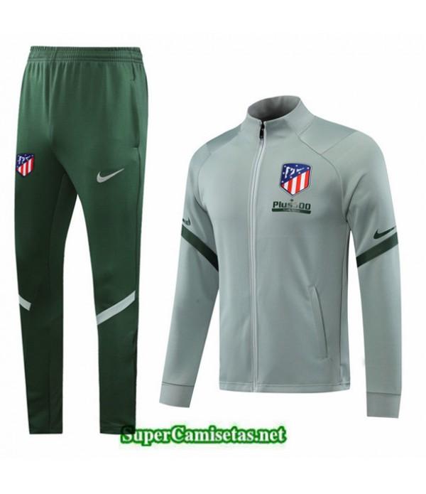 Tailandia Chaqueta Chandal Atletico Madrid Verde Claro 2020/21
