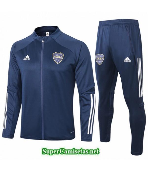 Tailandia Chaqueta Chandal Boca Juniors Azul Oscuro 2020/21