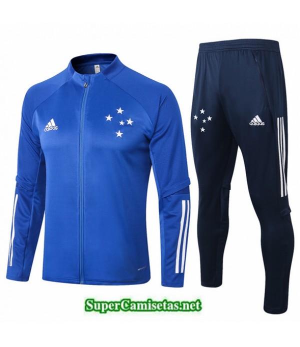 Tailandia Chaqueta Chandal Cruzeiro Azul 2020/21