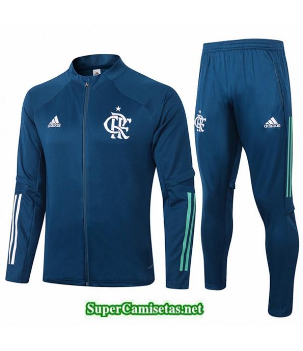 Tailandia Chaqueta Chandal Flamengo Azul Oscuro 2020/21