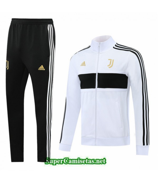 Tailandia Chaqueta Chandal Juventus Blanco/negro 2020/21