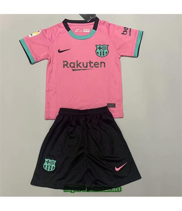 Tailandia Equipacion Camiseta Barcelona Niño Rosa 2020/21