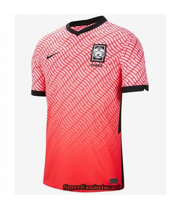 Tailandia Equipacion Camiseta Corea Rouge 2020/21