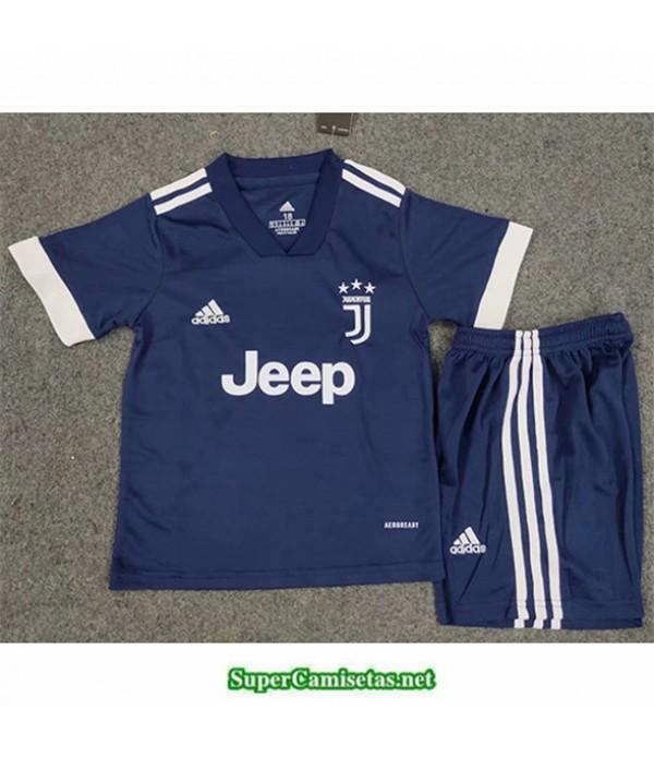 Tailandia Equipacion Camiseta Juventus Niños Azul 2020/21