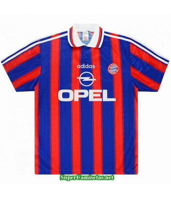 Tailandia Primera Camisetas Clasicas Bayern Munich Hombre 1995 97
