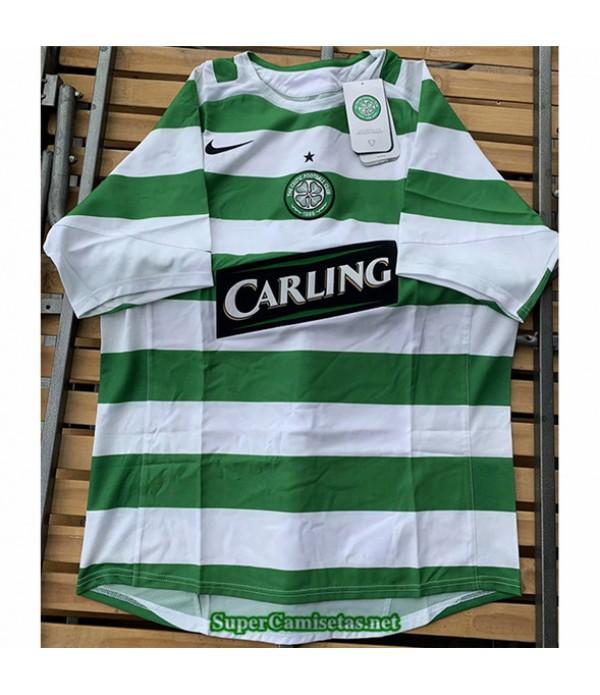 Tailandia Primera Camisetas Clasicas Celtic Hombre 2005 06