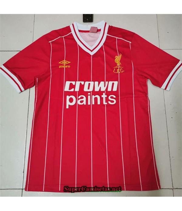 Tailandia Primera Camisetas Clasicas Liverpool Hombre Liga Campeones 1981 84