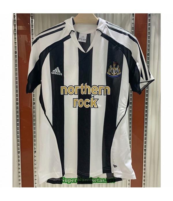 Tailandia Primera Camisetas Clasicas Newcastle United Hombre 2005 06