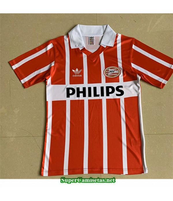 Tailandia Primera Camisetas Clasicas Psv Eindhoven Hombre 1990