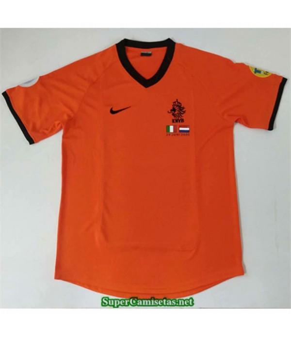 Tailandia Primera Camisetas Clasicas Paises Bajos Hombre 2000