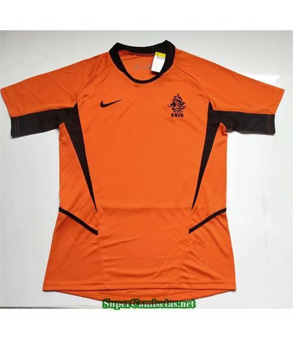Tailandia Primera Camisetas Clasicas Paises Bajos Hombre 2002