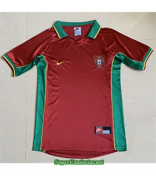 Tailandia Primera Camisetas Clasicas Portugal Hombre 1998