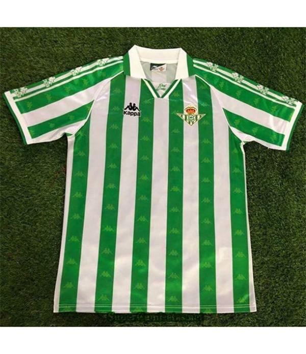 Tailandia Primera Camisetas Clasicas Real Betis Hombre 1995 97