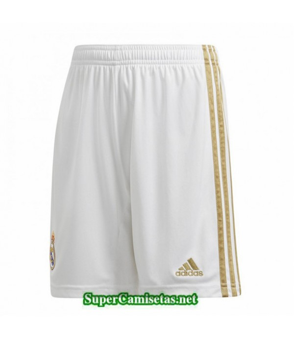 Tailandia Primera Camisetas Real Madrid Pantalones 2019/20
