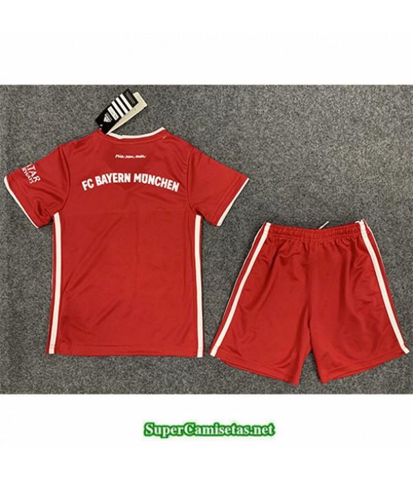 Tailandia Primera Equipacion Camiseta Bayern Munich Niños 2020/21