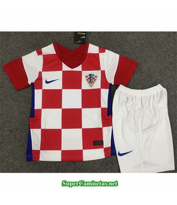 Tailandia Primera Equipacion Camiseta Croatia Niños 2020/21
