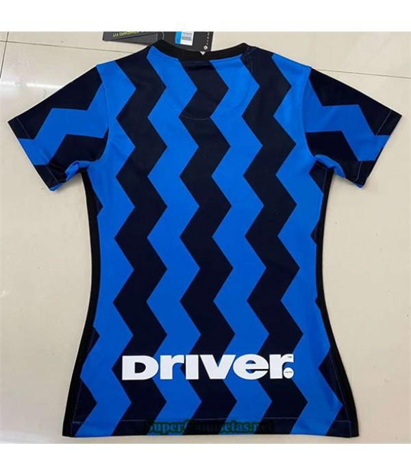 Tailandia Primera Equipacion Camiseta Inter Milan Mujer 2020/21