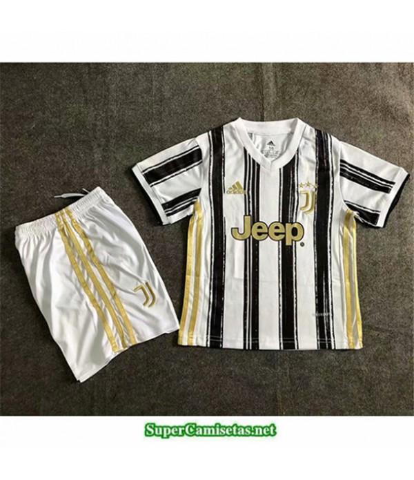 Tailandia Primera Equipacion Camiseta Juventus Niños 2020/21