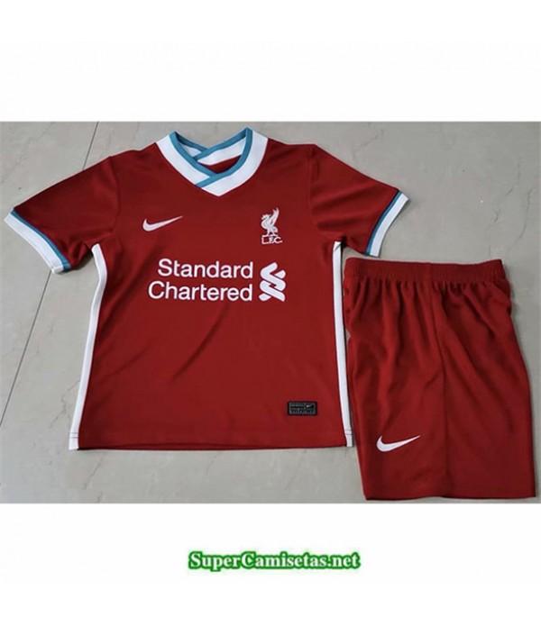 Tailandia Primera Equipacion Camiseta Liverpool Niños 2020/21