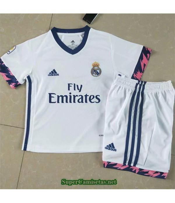 Tailandia Primera Equipacion Camiseta Real Madrid Enfant 2020/21