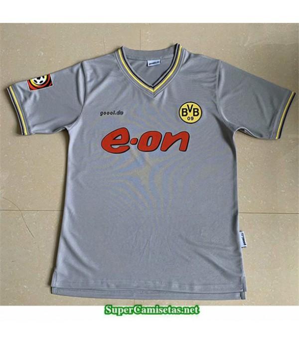Tailandia Segunda Camisetas Clasicas Borussia Dortmund Hombre 2000