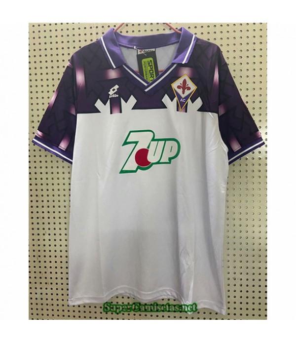 Tailandia Segunda Camisetas Clasicas Fiorentina Hombre 1992 93